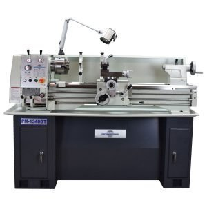 PM-1340GT Lathe, Shown with optional stand
