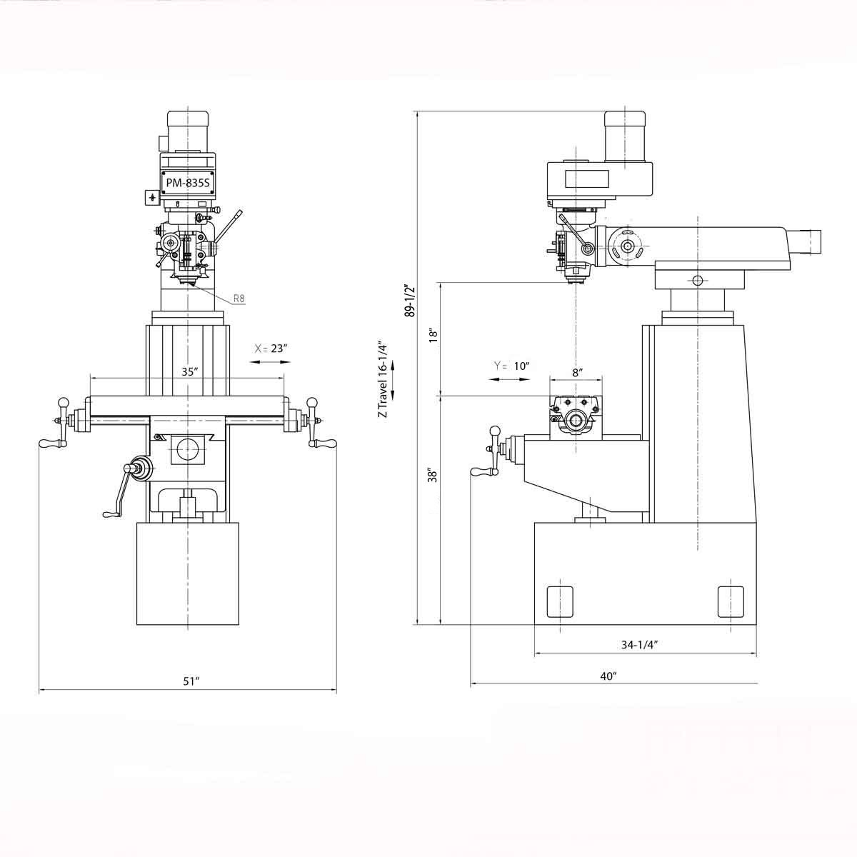 Single Phase Motor Starter Connection Diagram Control Wiring 1 Bridgeport Milling Machine Deh P5200hd Contactor